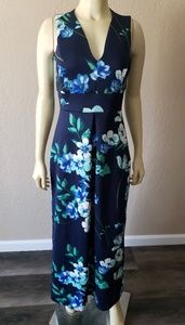 Enfocus studio floral stretch dress long 6